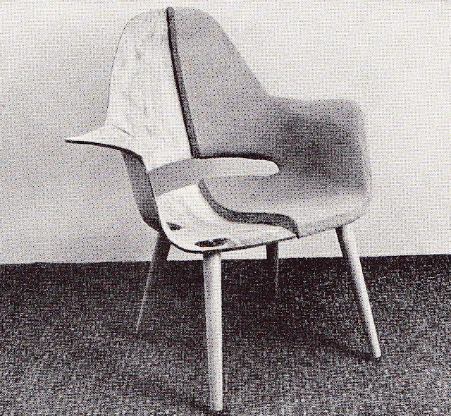Charles Eames And Eero Saarinen Organic Design Chair
