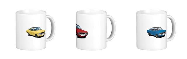 vauxhall, firenza, mug, mugs