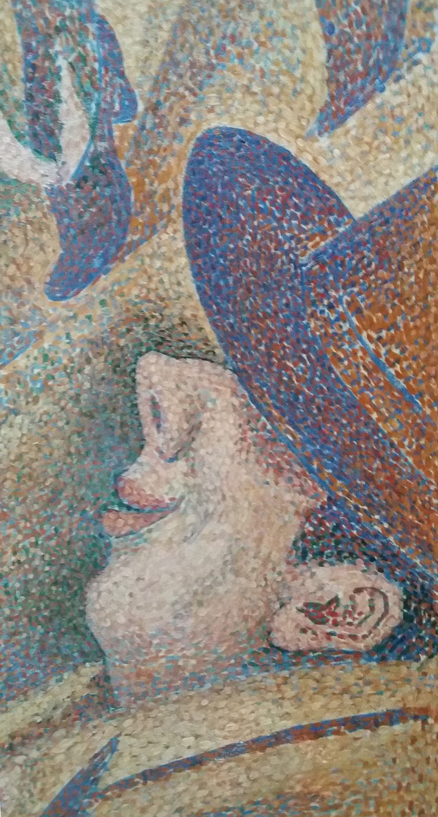 Study for The Chahut, 1890 by Georges Seurat. Pointillism ...