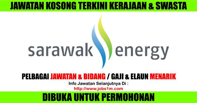 Jawatan Kosong Terkini di Sarawak Energy - 08 April 2017