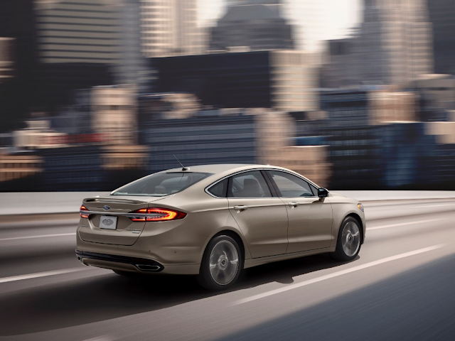 New Stop-and-Go Technology for the 2017 Ford Fusion