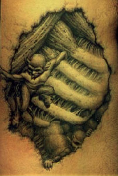 Tatuaże Wzory Demony Tatuaże