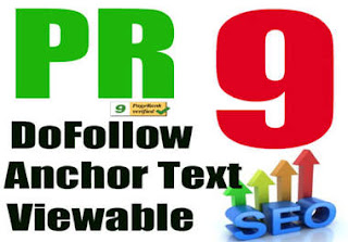 100 website di backlink PR 9 dofollow