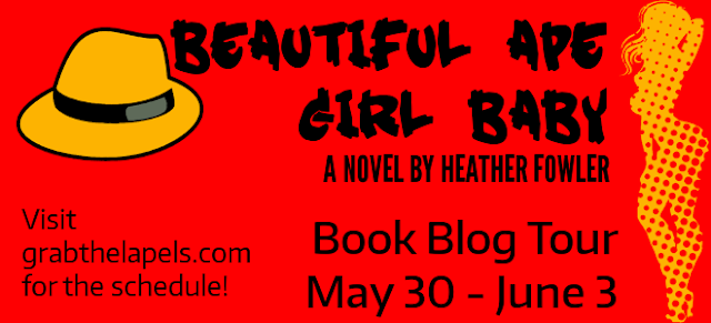 Blog Tour: Beautiful Ape Girl Baby
