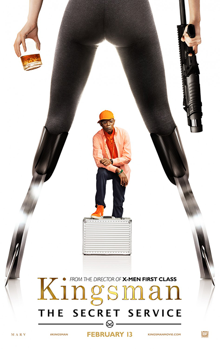 Kingsman The Secret Service Poster: Samuel L. Jackson