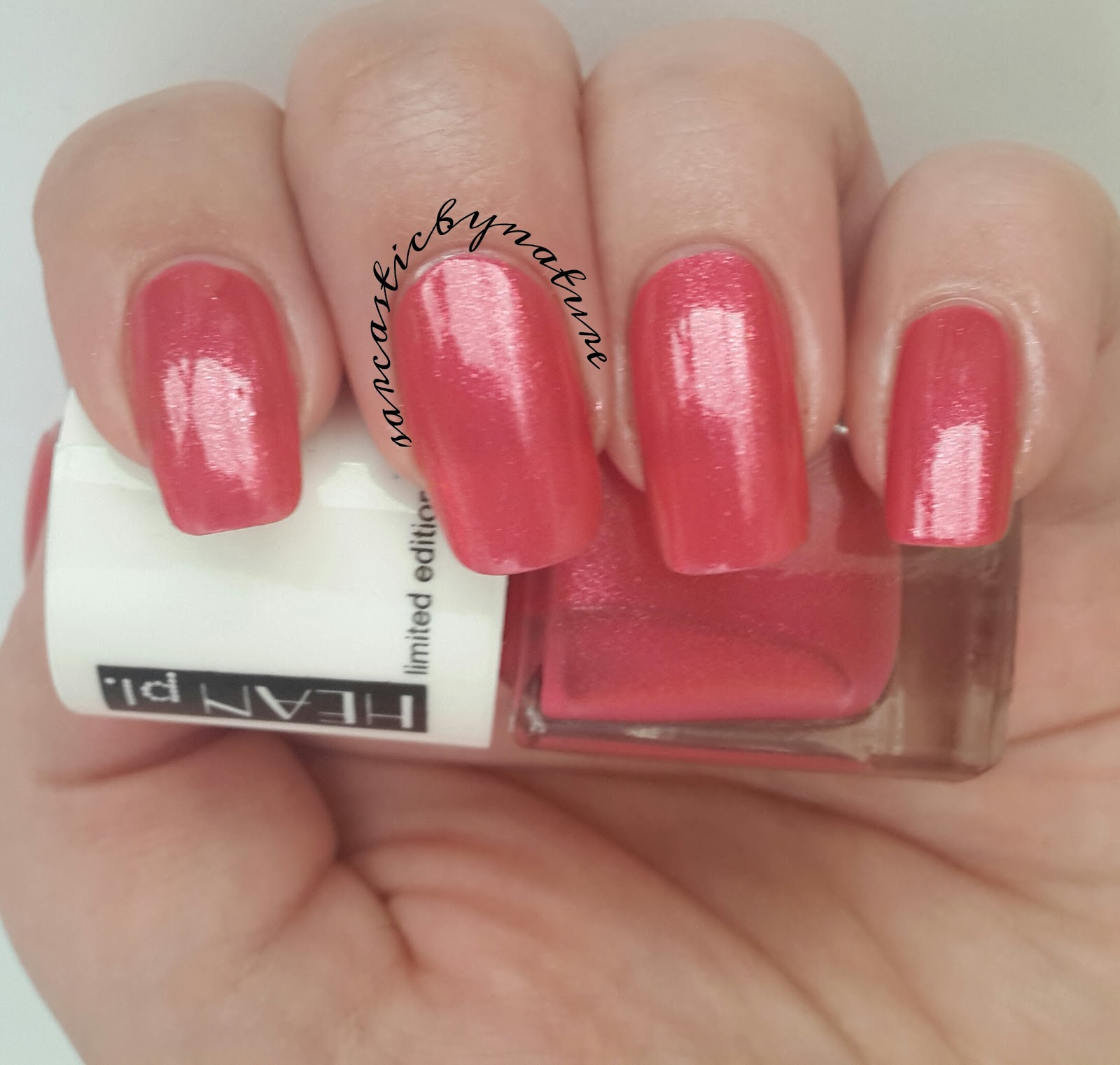 Sarcastic By Nature: Hean nail polish #272 - Jungle Pop collection