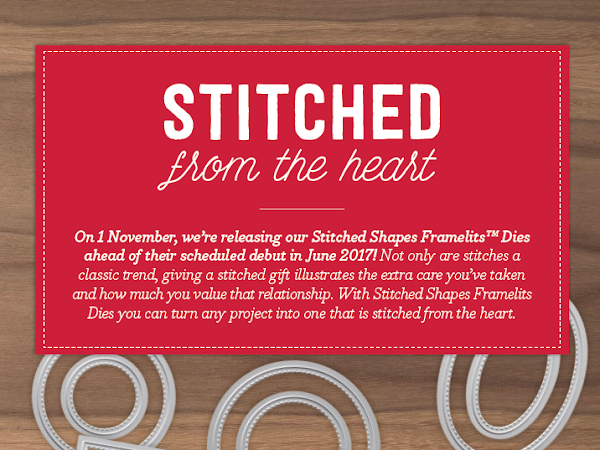 Stampin' Up! Sale Starts 1st November for ONE MONTH ONLY