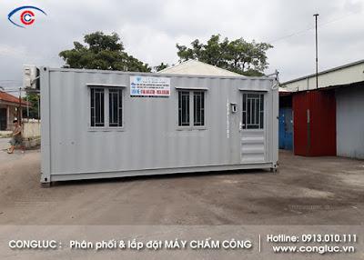 Lắp máy chấm công ở Công ty Icont Quận Hải An Hải Phòng
