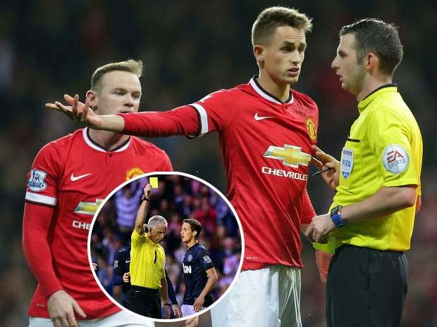 Adnan Januzaj has more bookings for diving than goals for Manchester United