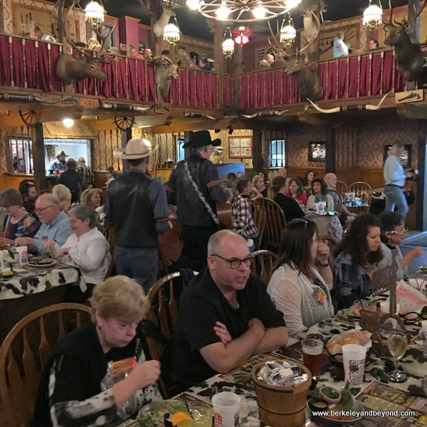 dining room at Big Texan Steak Ranch in Amarillo, Texas
