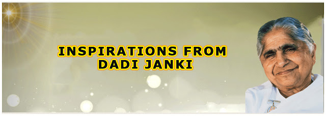 Inspirations from Dadi Janki