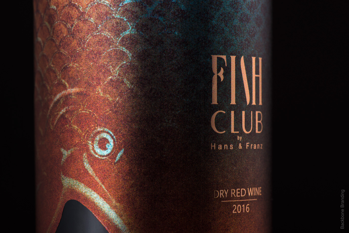 Fish club wine on packaging of the world creative for Wine with fish