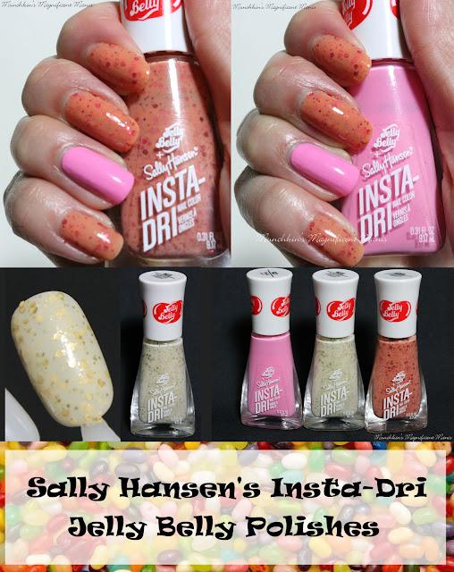 Sally Hansen Insta- Dri- Jelly Belly Polishes