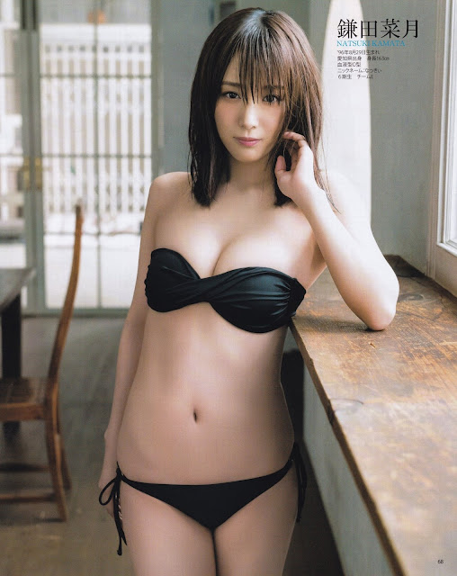 SKE48 Natsuki Kamata Ryoha Kitagawa Gravure Ruka Kitano 008