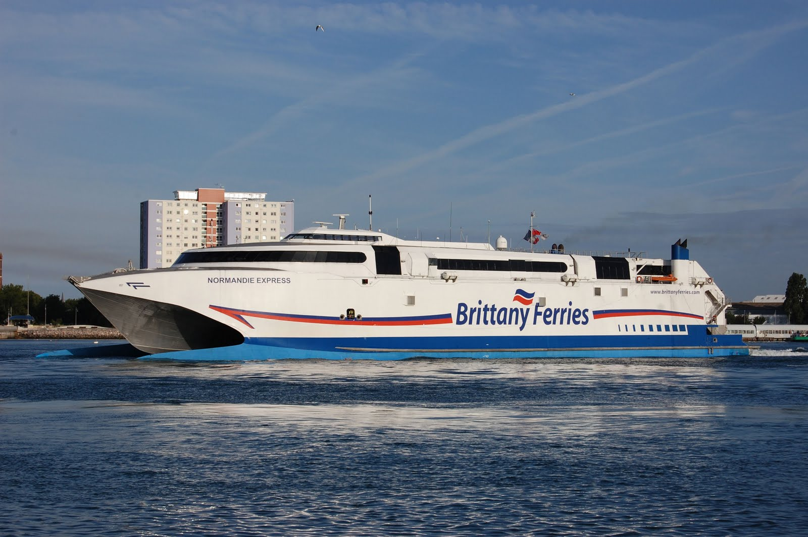 brittany ferries normandie express leaving portsmouth. Black Bedroom Furniture Sets. Home Design Ideas