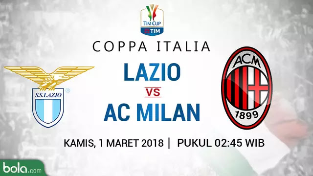 Susunan Pemain SS Lazio vs AC Milan