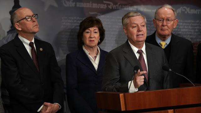 Senador estadounidense pide destrucción de Fuerza Aérea de Siria