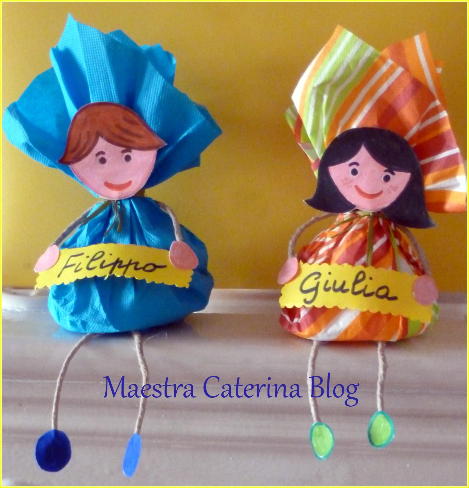 Maestra caterina for Lavoretti di natale maestra gemma