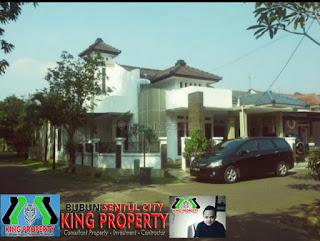 Rp.1.1 Milyar Dijual Cepat Rumah Hook 2Lantai Di Udayana Sentul City Bogor (code:253)