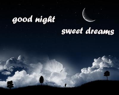 good night husband sweet dreams