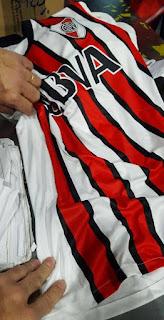 Nueva, Camiseta, River, River Plate, Suplente, Tres tiras, 2016, 2017, BBVA Frances, Banco Frances, Huawei