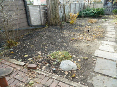 Toronto Cabbagetown Fall Backyard Garden Clean up by Paul Jung Gardening Services after