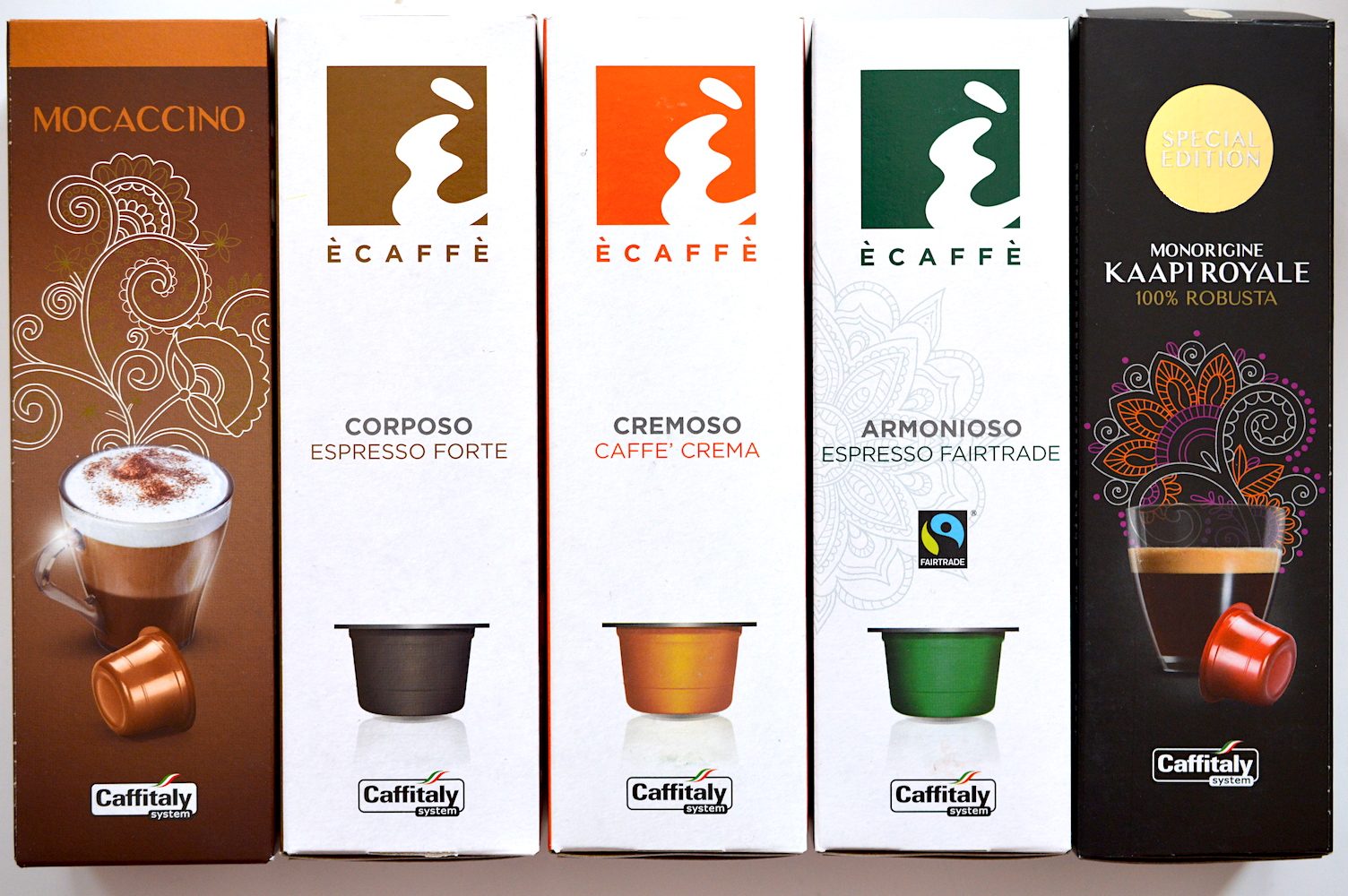 caffitaly pods