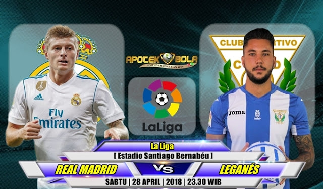 Prediksi Real Madrid vs Leganes 28 April 2018