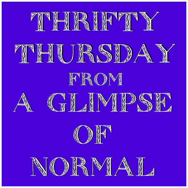 A Glimpse of Normal, Thrifty Thursday, Saving Money