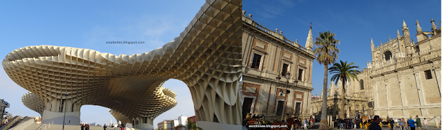 Viaje a Sevilla: Metropol-parasol Las Setas, Archivo de indias y Catedral de Sevilla