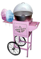 cotton candy cart for hire jakarta