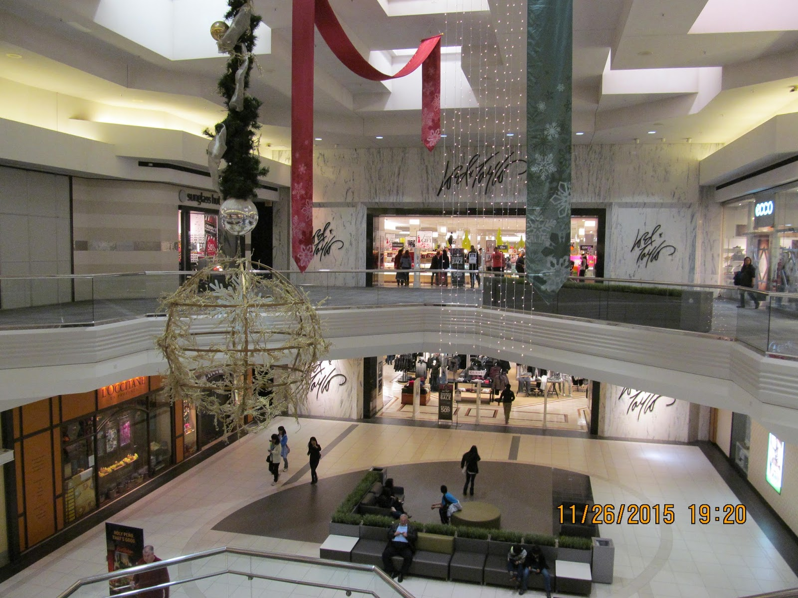 Trip To The Mall Christmas At Woodfield Mall 2015