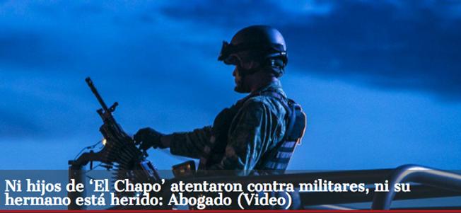 Video donde dice el Abogado del Chapo Guzmán que los hijos del capo no fueron