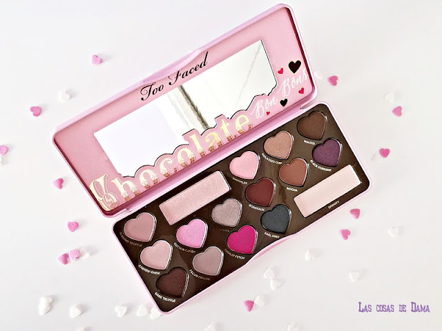 Chocolate Bob Bons Too Faced makeup maquillaje eyepalette beauty regalos san valentin
