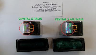 Hologram Crystal X