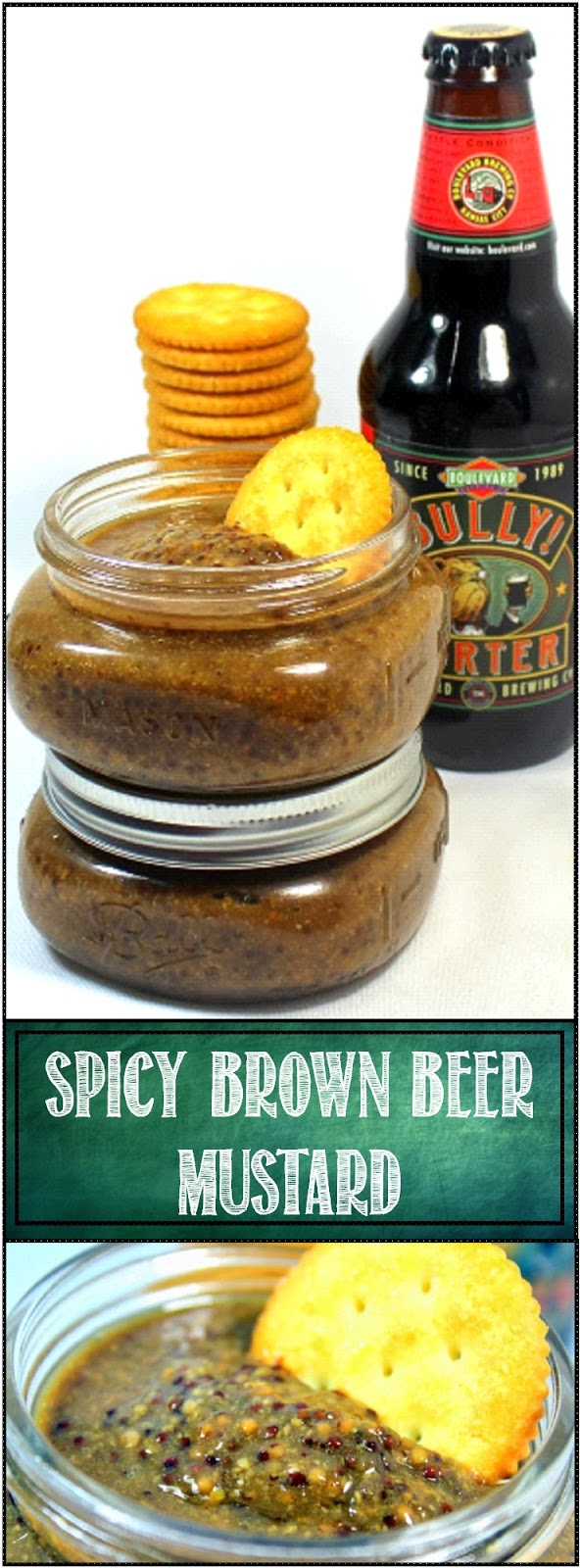 52 Ways to Cook: Spicy Brown Beer MUSTARD - 52 Small Batch Canning