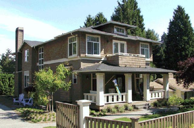 projekt domu w stylu amerykańskim