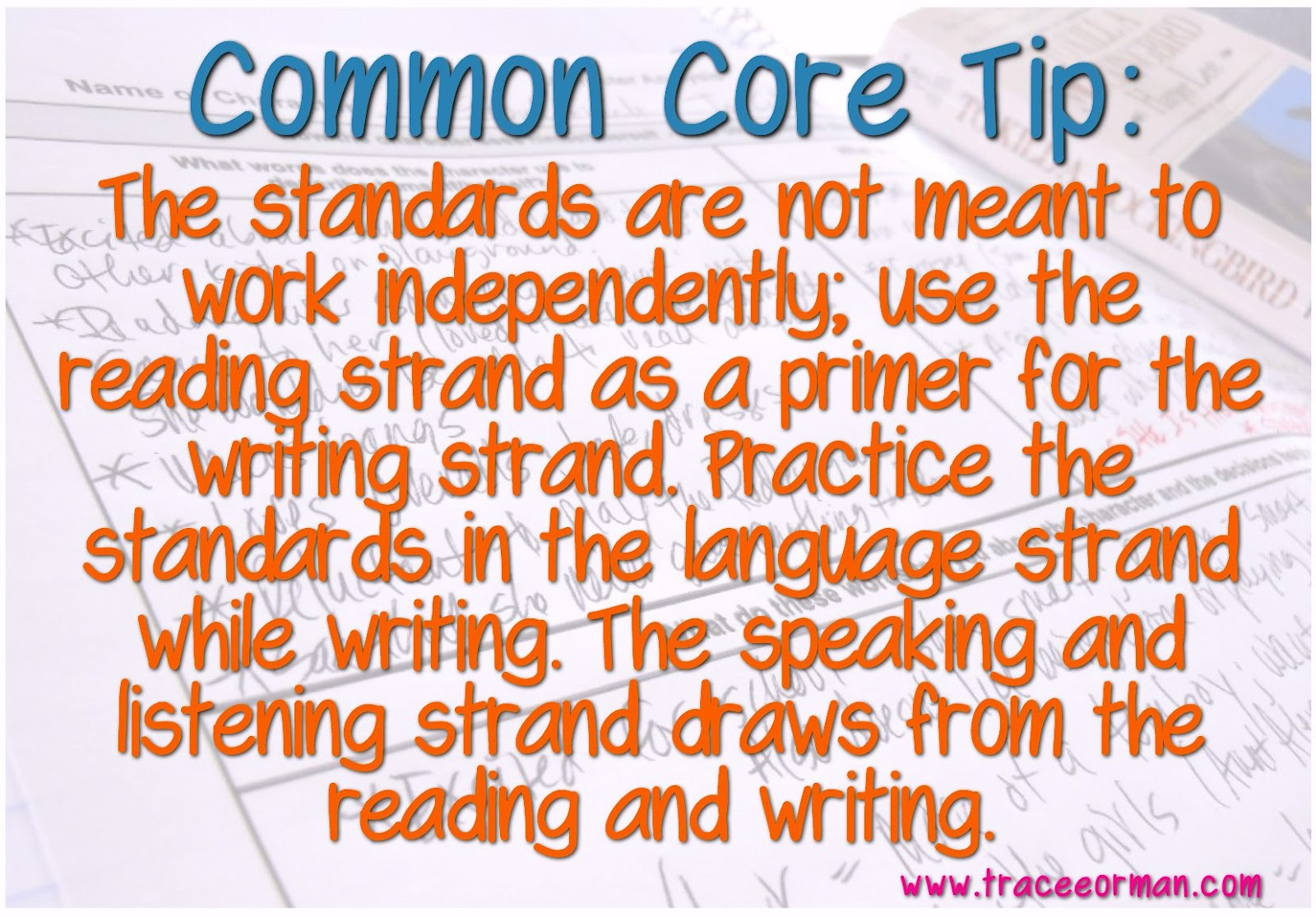 Mrs Orman S Classroom Tip 3 For Implementing The Common Core State Standards In Your Ela