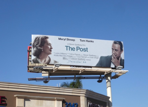 Post movie billboard