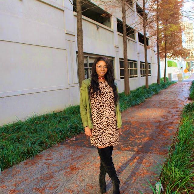 styleguruzak_leopard_print_and_olive_green_hoodie_jacket_slay