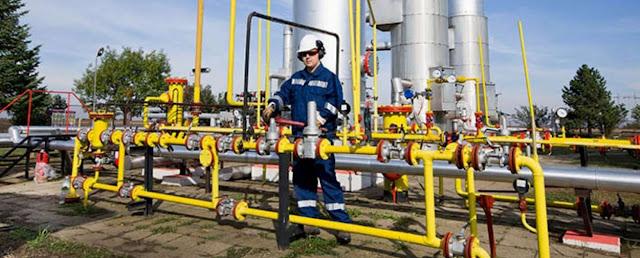 Gas natural y empresas en bolsa