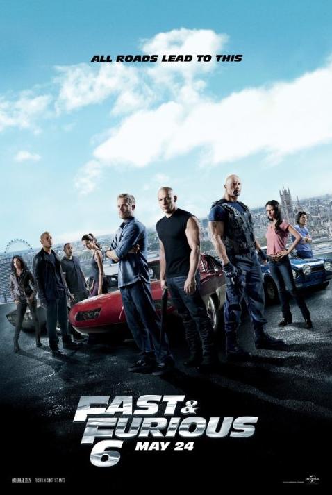 Fast & Furious 6 (2013) ταινιες online seires xrysoi greek subs