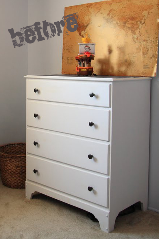 Two Toned Painted Stained Dresser Yellow Bliss Road