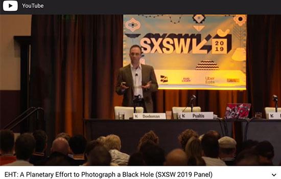 Pretty good video, but without showing the slides of he EHT (Source: https://www.youtube.com/watch?v=1EZi0SZ4L2I&app=desktop)