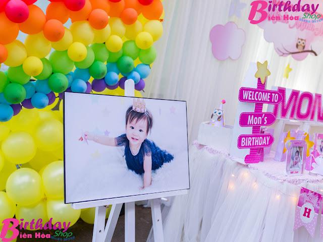 sinh nhật bé Mon ở Biên Hòa