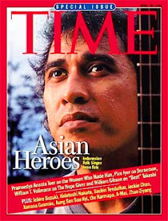 Iwan Fals di majalah Time Asian Heroes