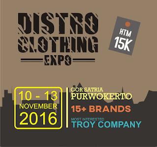Distro Clothing Expo Purwokerto 2016
