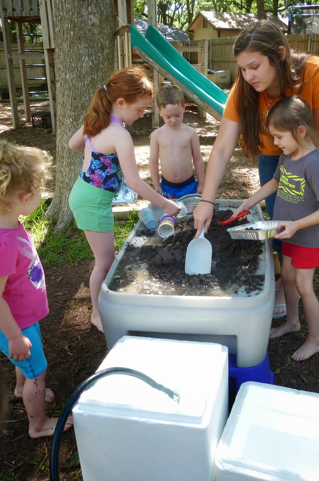 International Mud Day at Paula's Preschool and Kindergarten