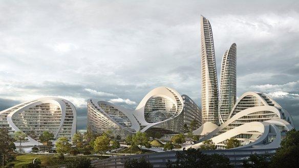 Z.H.A SÉLECTIONNÉ POUR CONSTRUIRE D'UNE SMART CITY À  MOSCOU