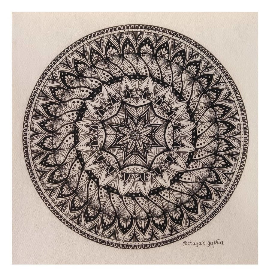 07-Traditional-design-Chayan-Gupta-3D-Mandala-Drawings-www-designstack-co
